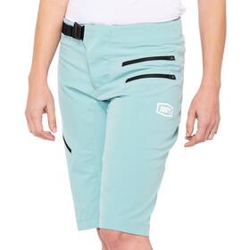 100% Airmatic Spodnie krótkie Kobiety, turkusowy